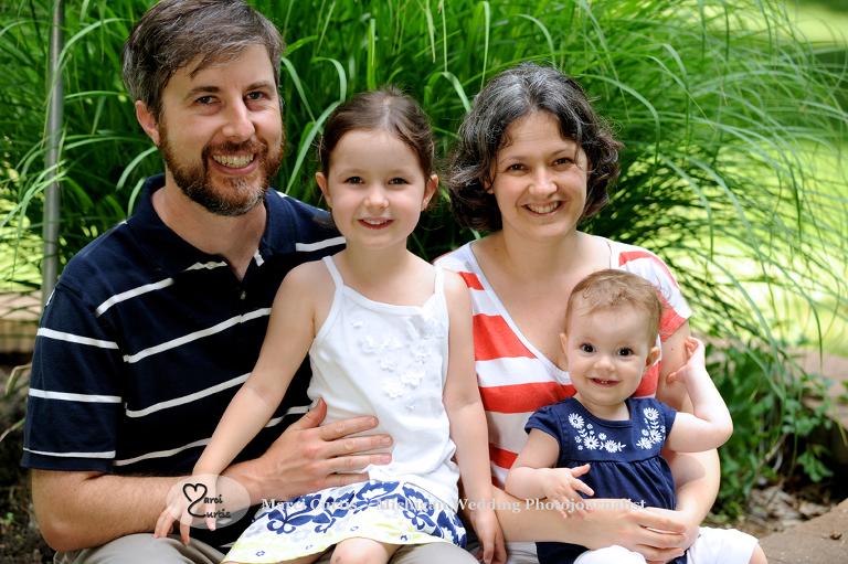 Michigan family photo