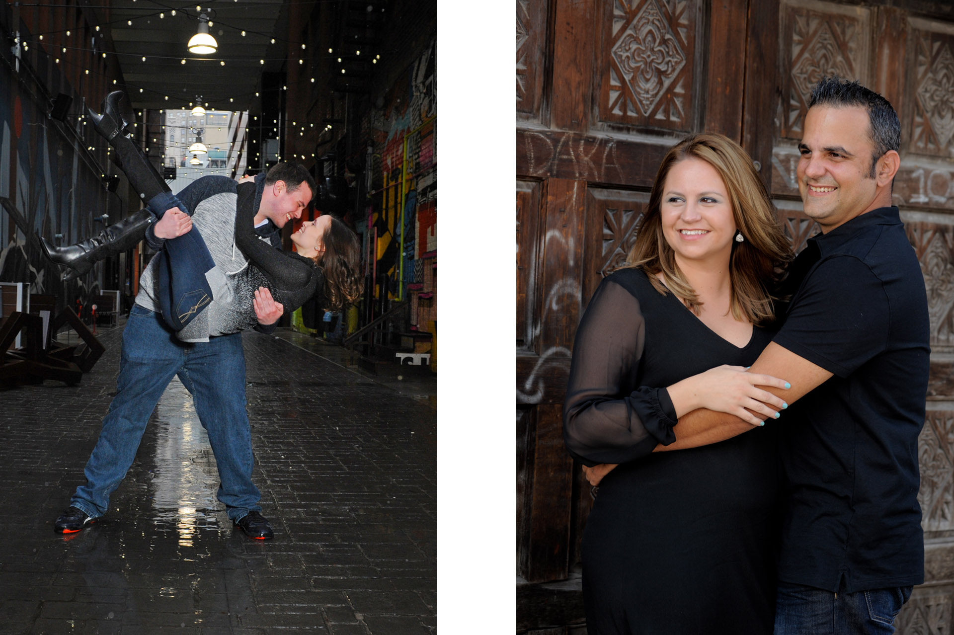 Best Detroit lifestyles photographer loves photographing newly engaged clients during