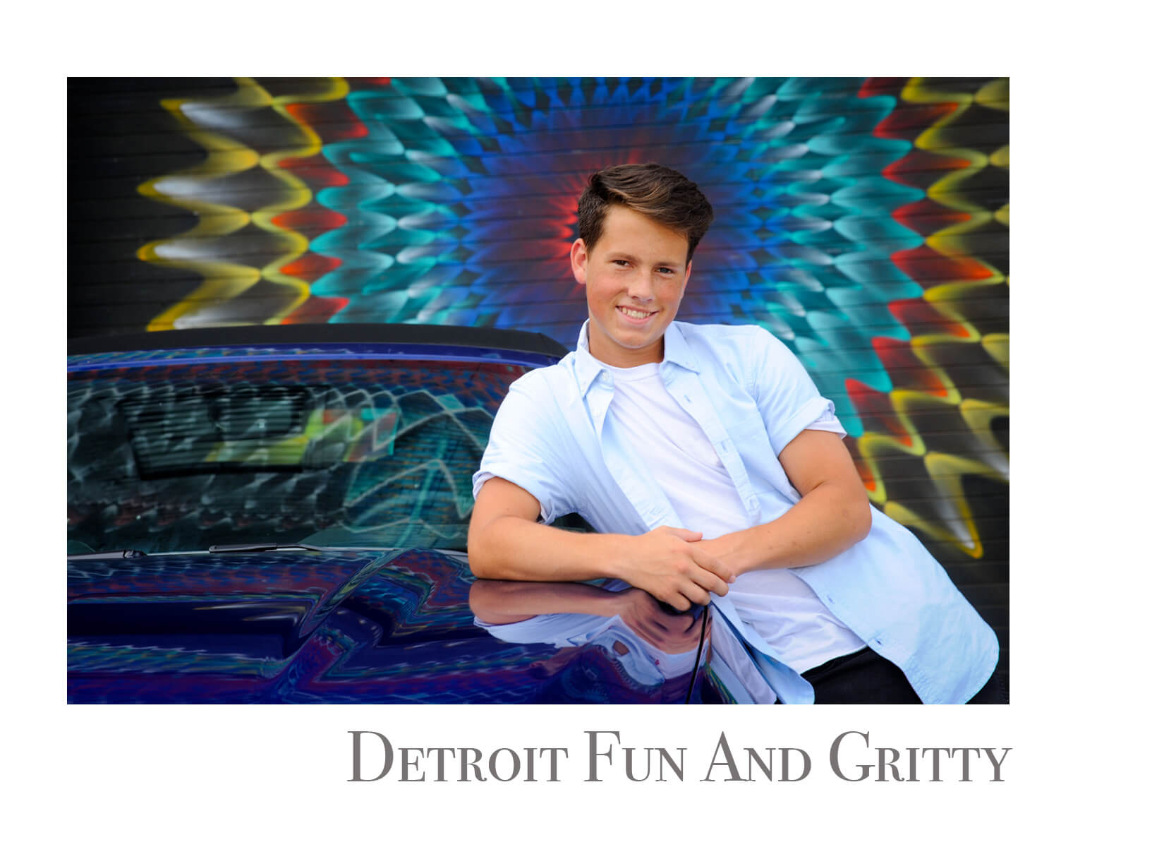 Auburn Hills offers a hometown feel to senior photos as well as having great water and fall features for senior pictures in Metro Detroit, Michigan.