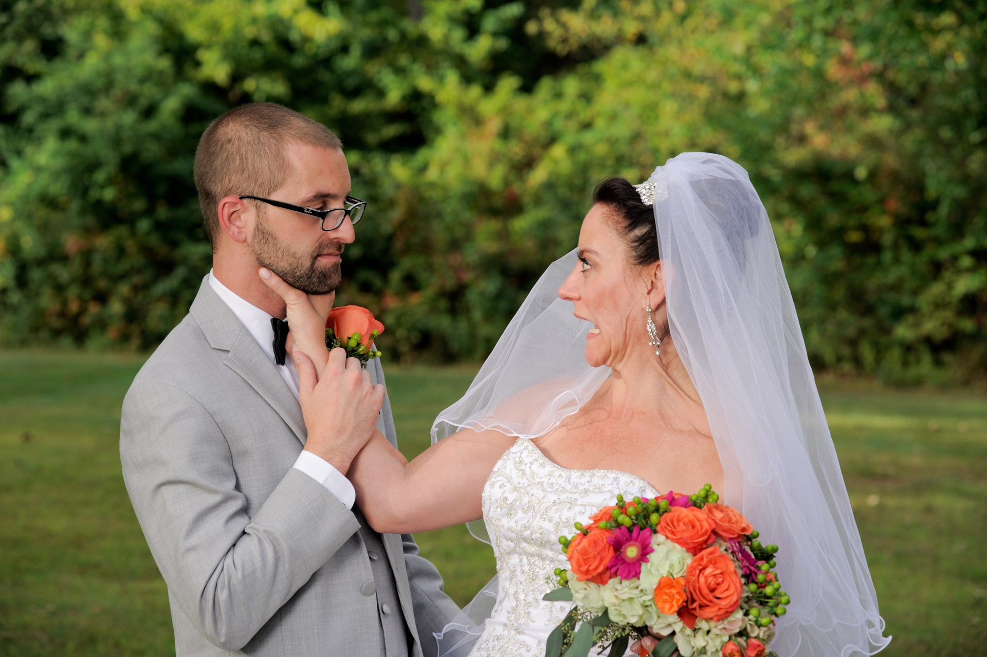 Wedding At Wyndham Garden Formerly Known As The Sterling Inn In Sterling Heights Michigan And