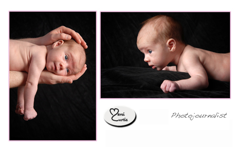 Michigan photographer features newborn photos in your home