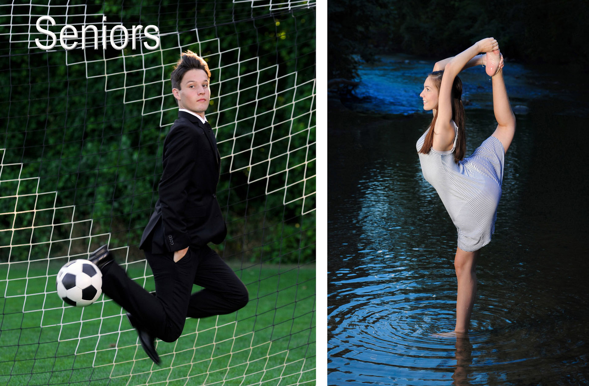 Metro Detroit senior photography features unique images that showcase the senior's unique talents and interests photographed in a fun, casual way.