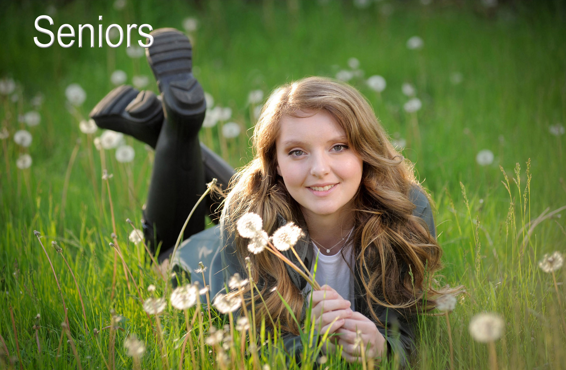 Fun senior photos taken in the Troy, Michigan area reflect the senior's personality and interests keeping the senior photo shoot fun and relaxed.