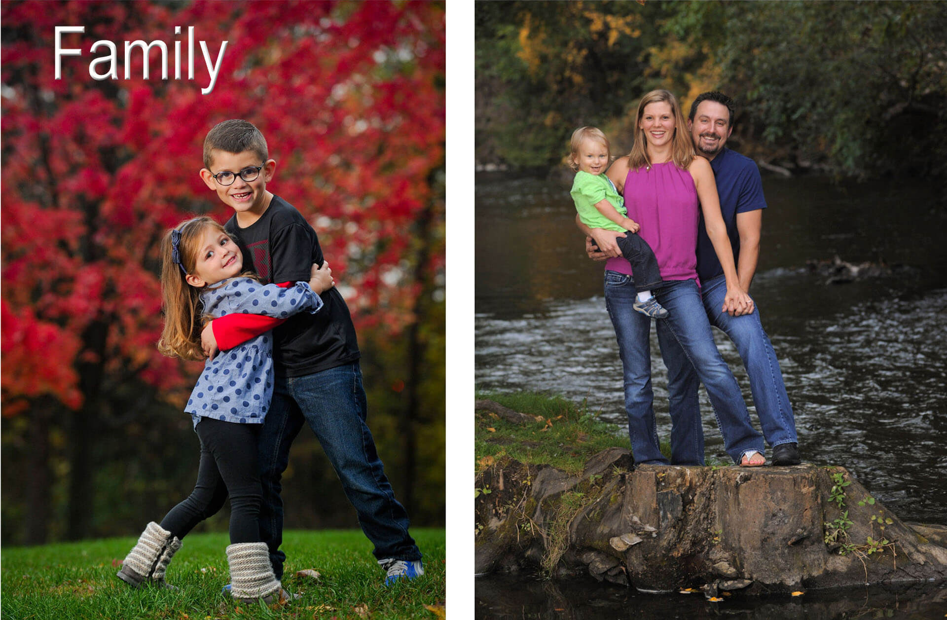 Troy family photographer photographs families all over the Troy, Michigan area to create fun, candid moments with families.