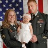Detroit Michigan family military portrait