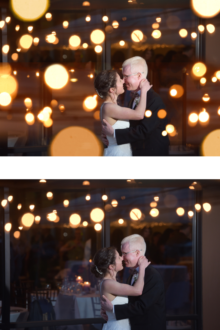 Creating images in post production in photoshop is part of any wedding photographer's day.