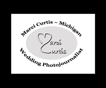 Detroit Michigan wedding photographer Marci Curtis logo