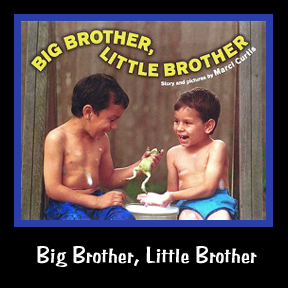 Big Brother, Little Brother is a book celebrating brotherhood and I am the author and illustrator of this children's book