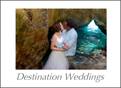 Well traveled photographer Marci Curtis is available to shoot destination weddings.