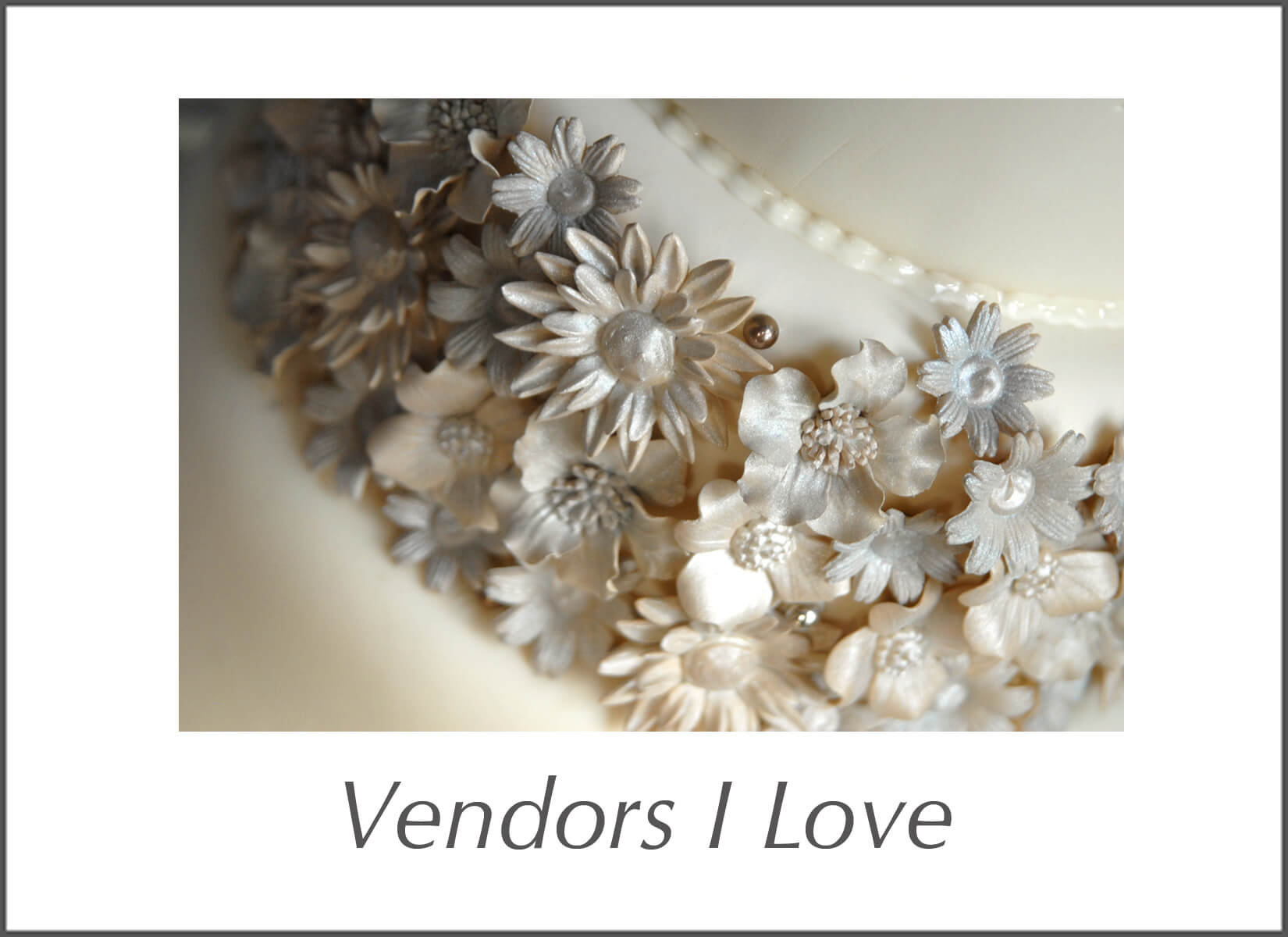 List of favorite Michigan wedding photographer's favorite wedding vendors to work with