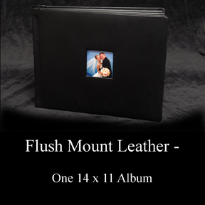 now offering a full flushmount wedding album full of 200 wedding photos