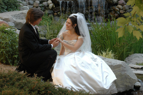 Michigan wedding photographer has many galleries and photo albums to preview