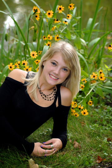 Michigan Farmington senior pictures shot whereever your high school senior is most comfortable.