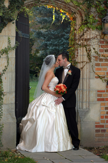 Meadow Brook Hall wedding photographer shoots photograhy using great available light in Rochester, Michigan at Meadowbrook Hall