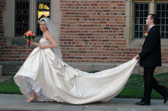 Meadowbrook Hall wedding photography features couples photographed quickly in natural poses with perfect light after their outdoor wedding at Meadowbrook Hall in Michigan