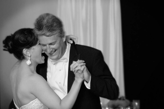 Southfield Michigan couple during first dance.