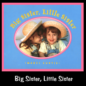 Big Sister, Little Sister is a book celebrating sisterhood and I am the author and illustrator of this children's book