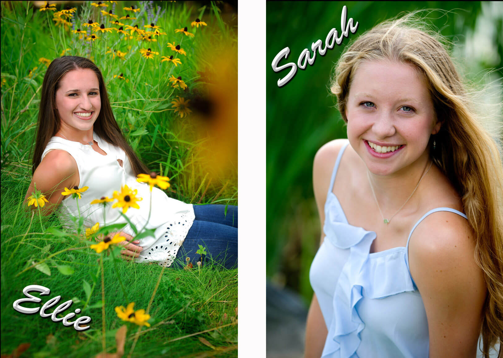 Birmingham, Michigan senior photography is fun and joyful ... especially when they are done as a buddy session with a best friend.