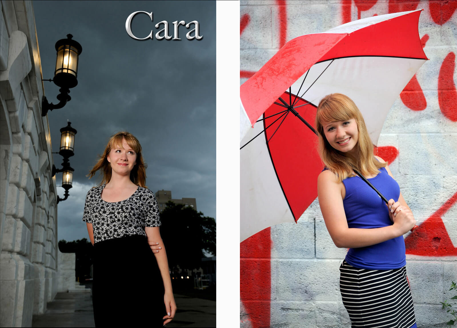 Metro Detroit, Michigan senior photography is all done outdoors, on location which means photographing rain or shine and can create some amazingly dramatic photos as well!