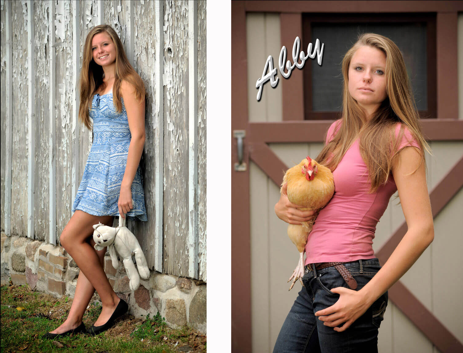 A senior who love animals wanted a variety of images for her Troy, Michigan senior photos taken at a Metro Park in Michigan .