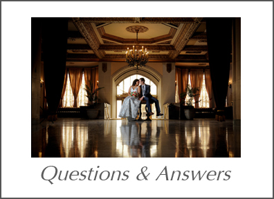 An information packed with questions and answers provided as well as Michigan wedding planning tips and other information